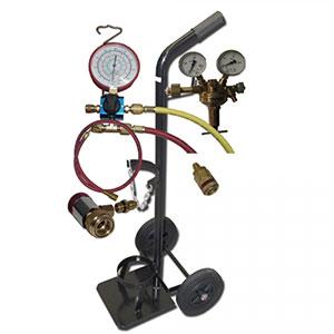 Klimaanlagen Abdrück-Set Formiergas
