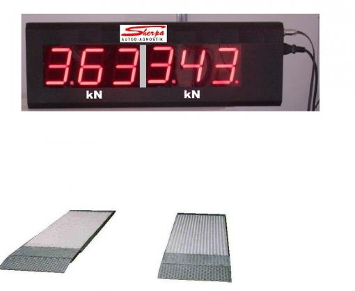Platten-Bremsprüfstand Typ PPS-101-ECO-D