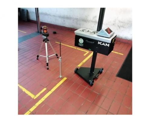 Kalibrierung für Scheinwerfereinstellgerät