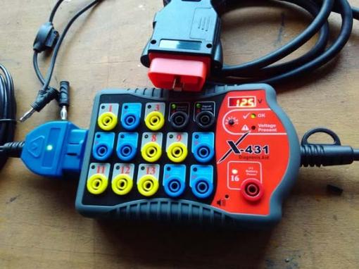 OBD BreakOut Box 16-Polig mit Batterieanzeige